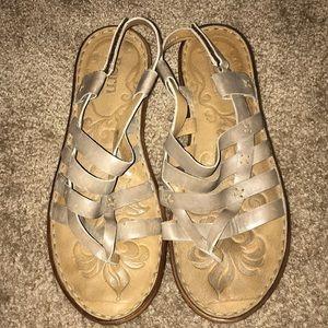 Born genuine leather sandals sz. 11